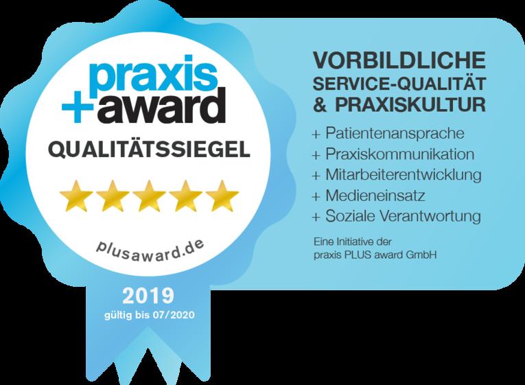 Praxis-Auszeichnung-Eckhauspraxis-Wuerzburg